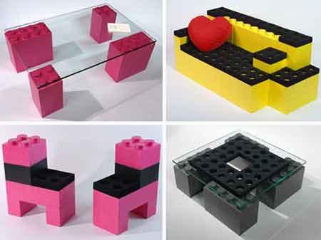 SOFAS EM LEGO